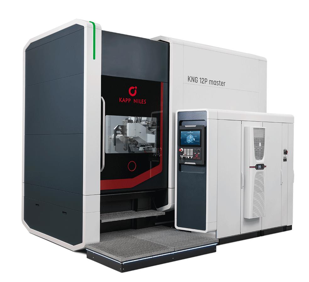 Referenzbild einer Maschine von Kapp Niles, als Beispiel für Arbeiten im Bereich der Industrielackierung