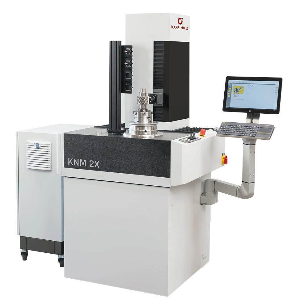 """Referenzbild einer Maschine von Kapp Niles, als Beispiel für Arbeiten im Bereich der Pulverbeschichtung """"Maschinen"""""""